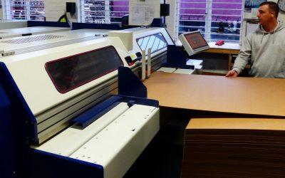 Foreman's carton shop can produce two colour printed cartons