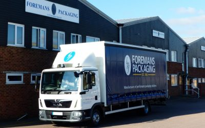 New addition to Foreman's growing fleet of vehicles